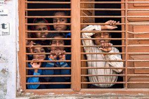 Migranten in einer Schulklasse